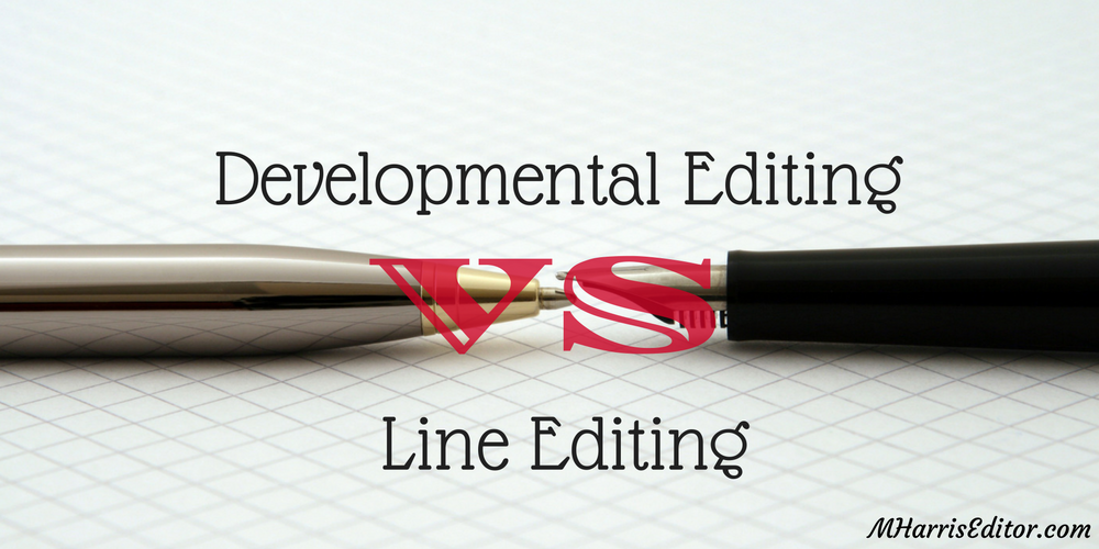 developmental vs. line editing
