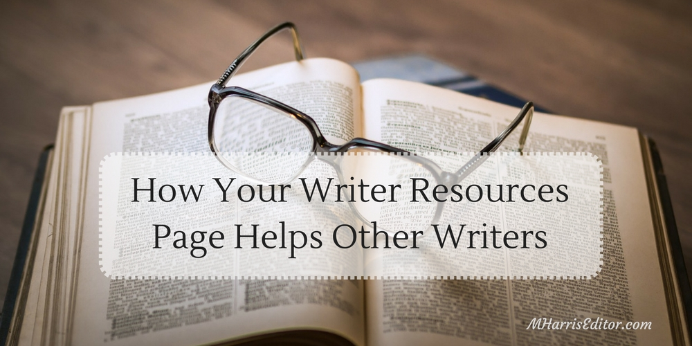 writer resources page
