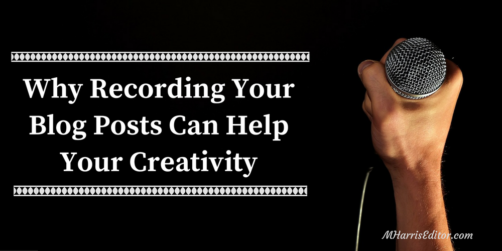 recording blog posts