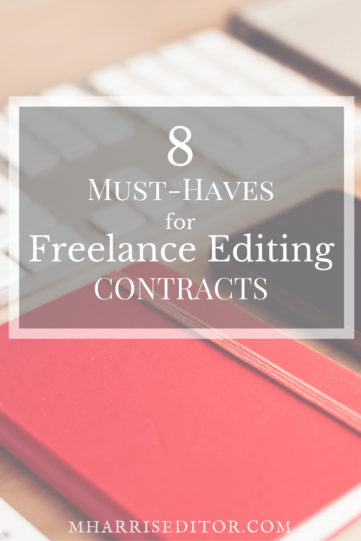freelance editing contract